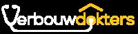 Logo verbouwdokters donker achtergrond